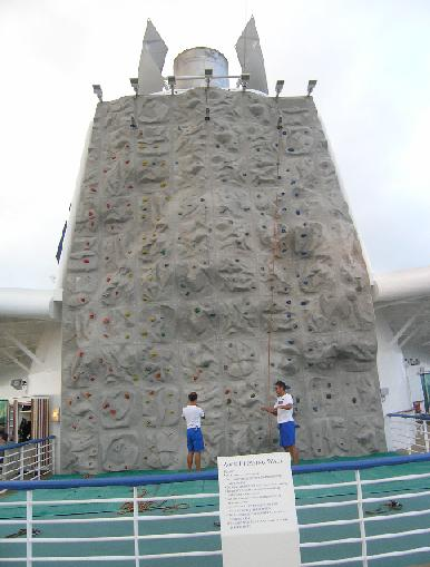 Jewel of the Seas-Rock Climbing Wall