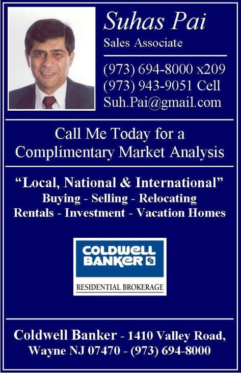 Suhas Pai for Coldwell Banker
